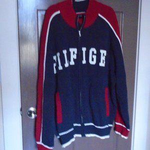 TOMMY HILFIGER Men's Zip Up Sweater Cardigan
